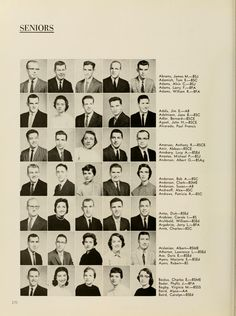 "Athena yearbook, 1959. ""Alvin Adams becomes the first African American to receive a degree in journalism."" :: Ohio University Archives"