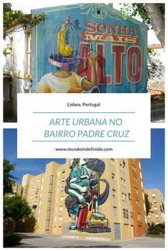Lisboa alternativa: arte urbana no Bairro Padre Cruz