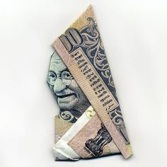 Peekaboo origami money. #origami