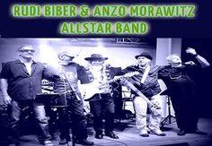 Rudi Bieber & Anzo Morawitz ALLSTAR BAND All Star, Star Wars, Good Music, Band, Movie Posters, Movies, Films, Starwars, Bands