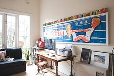 Natalie and Nick's Colorful, Playful Melbourne Hideaway — House Tour | Apartment Therapy