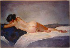 A. Cayuela - Lying Nude