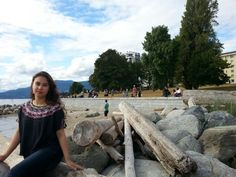 English Bay Beach in Vancouver, BC