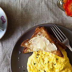 Poached Egg Scramble
