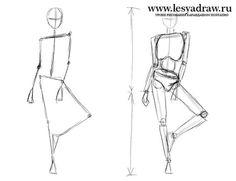 Как нарисовать человека для начинающих Body Sketches, Art Drawings Sketches, Cool Art Drawings, Stick Figure Drawing, Human Figure Drawing, Drawing Reference Poses, Drawing Poses, Fashion Figure Drawing, Body Drawing Tutorial