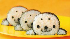 #Sushi a forma di foca <3