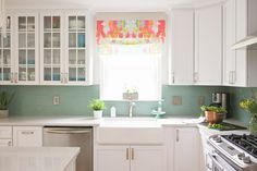 Mouse house kitchen remodel. Candy Kirby Designs fabric.