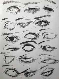 Imagen de drawing, eyes, and art