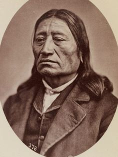 Iron Nation (Ma-Za-O-Ya-Ti). Brule Sioux. 1867. Photo by Alexander Gardner. Source - Princeton Digital Library.