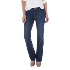 Crafted by Lee® Women's Curvy Fit Bi-Stretch Bootcut