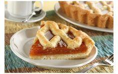 A jam dessert Greek Sweets, Greek Desserts, Cookie Desserts, Greek Recipes, Pie Recipes, Dessert Recipes, Cooking Recipes, Sweet Pie, Sweet Tarts