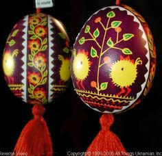 Ukrainian Easter Egg Pysanky UA06034 by Iryna Vakh  from the Lviv  on AllThingsUkrainian.com
