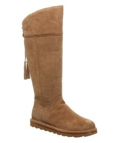 Look at this Hickory Tracy Suede Over-The-Knee Boot - Women Bearpaw Boots, Ugg Boots, Shoe Boots, Knee High Boots, Over The Knee Boots, Slouchy Boots, Cozy Fashion, Boots Online, Suede Shoes