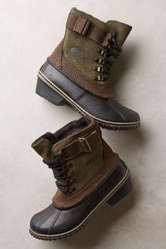Sorel Winter Fancy Lace II Boots - anthropologie.com