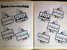 The Sweetest Melody: Holiday Rhythm Folder Games - Kinder/First