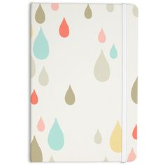 Kess Inhouse Very Sarie Rainy Days Everything Notebook (49 BRL) ❤ liked on Polyvore featuring home, home decor, black, home & living, office, office & school supplies, black home decor, writing notebook and black notebook
