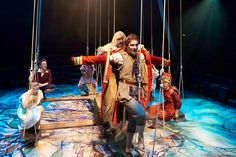 Peter Pan in Scarlet, play adaptation first performed at the New Vic Theatre, Newcastle Under Lyme, 2016