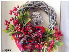 Giugizu's corner: 30 Days of Christmas 2015 - DAY 11 : D.I.Y. wooden wreath - Ghirlanda in legno fai da te. Video tutorial on my blog!!