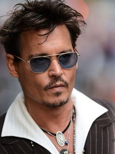 Johnny Depp - Celebrity Fashion Style. Read about Johnny at http://edwinpireh.com/johnny-depp-celebrity-fashion-style/