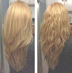 Chunky Layered Haircuts Long Hair (View 5 of Long Layered Hair Straight Chunky Hair Haircuts layered long view Long Layered Haircuts, Haircuts For Long Hair, Straight Hairstyles, Long V Haircut, Medium Hair Cuts, Medium Hair Styles, Curly Hair Styles, V Hair Cuts, Long Hair V Cut