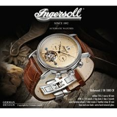 Ingersol Watches Design