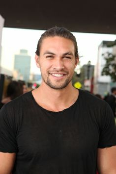 nothing sexier on a man than a smile !!! Jason Momoa