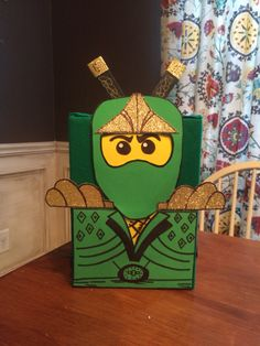 Lego Ninjago Valentine Box
