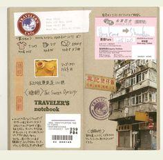 Midori TRAVELER'S Notebook // Refill 014 : Kraft Paper | The Journal Shop