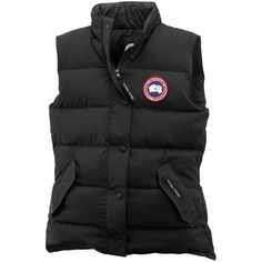 Women's Canada Goose Freestyle Vest (3.260 NOK) ❤ liked on Polyvore featuring canada goose