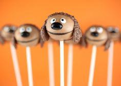 Rowlf Cake Pops!   http://www.bakerella.com/the-muppets-cake-pops/