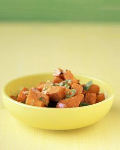 Sweet-Potato and Ginger Salad - This is really good!