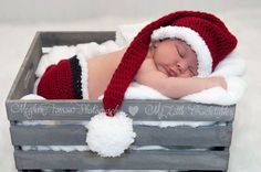 Baby Santa Outfit Christmas Santa Baby by MyLittleCrochetables