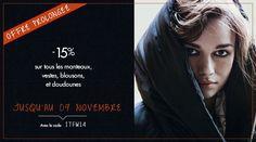 -15% sur Les Manteaux, Doudounes, Parkas et Blousons de la Collection hiver avec le code ITFW14  http://www.apresmidishopping.com/10;veste-manteau.html