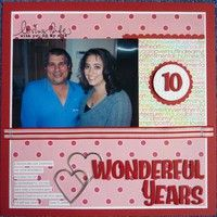 A Project by Rosaria5 from our Scrapbooking Gallery originally submitted 03/03/10 at 10:33 AM