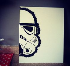 Star Wars Painting; Stormtrooper by Chelsiecole32 on Etsy