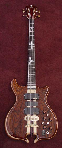 Alembic Bass Guitars