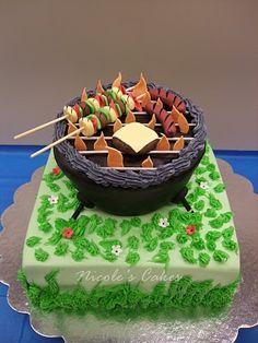 Summer Grilling cake