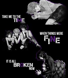 ""\"""" Take me to the time when things were fine , It is all broken now """" Anime : Pandora Hearts""235|267|?|en|2|4b9b559a5f29f90342e5b9b7e53003b2|False|UNLIKELY|0.3515796661376953