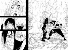 English exclusive interview with Kishimoto: NARUTO FINAL. AMAZING Poster Size Original Drawings too! http://www.gunjap.net/site/?p=215941