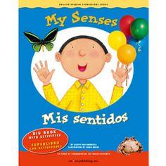 My Senses - Bilingual Big Book