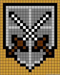 A63487 - friendship-bracelets.net Attack on Titan
