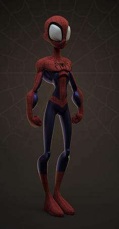 Toon Spiderman by William Vaughan on ArtStation. 3d Model Character, Character Poses, Game Character Design, Character Design Animation, Character Modeling, Comic Character, Character Concept, Marvel Comics, Marvel Cartoons
