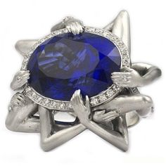 LUST: From a collection called The 7 Deadly Rings designed to represent each of the 7 deadly sins.