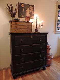 Ball foot dresser from Primitives in Pine