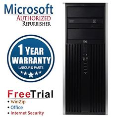 Introducing Refurbished  HP Elite 8000 Desktop PC E8400 30GHz 8GB DDR3 1TB HDD DVD Windows 7 Pro 64Bit 90 Days Antivirus 30 Days Winzip  Corel Office 1 Year Warranty. Great product and follow us for more updates!