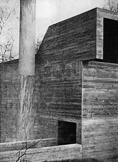 The architecture of the Belgian Modernist Juliaan Lampens (°1926) goes beyond designs for conventional living and instead suggests a utopian avant-garde of living without barriers. He experimented with the use of raw concrete and created sculpture-like exteriors leading onto open vistas.   http://issuu.com/asa-publishers/docs/juliaan_lampens