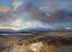 David Atkins.  Love the brushstrokes and the play on light