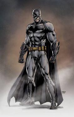 Ben Affleck's Batman by Jason Fabok by BatmanMoumen on DeviantArt