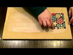 How to Decoupage With Mod Podge (without bubbles and wrinkles!!) - YouTube