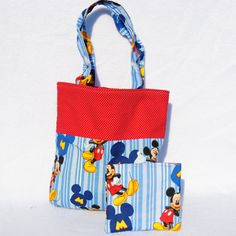 Mickey mouse girls tote - coin purse tote set